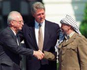Rabin - Clinton - Arafat