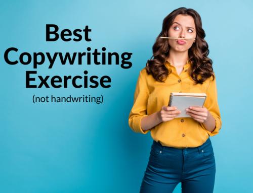 Best Copywriting Exercise (not handwriting)